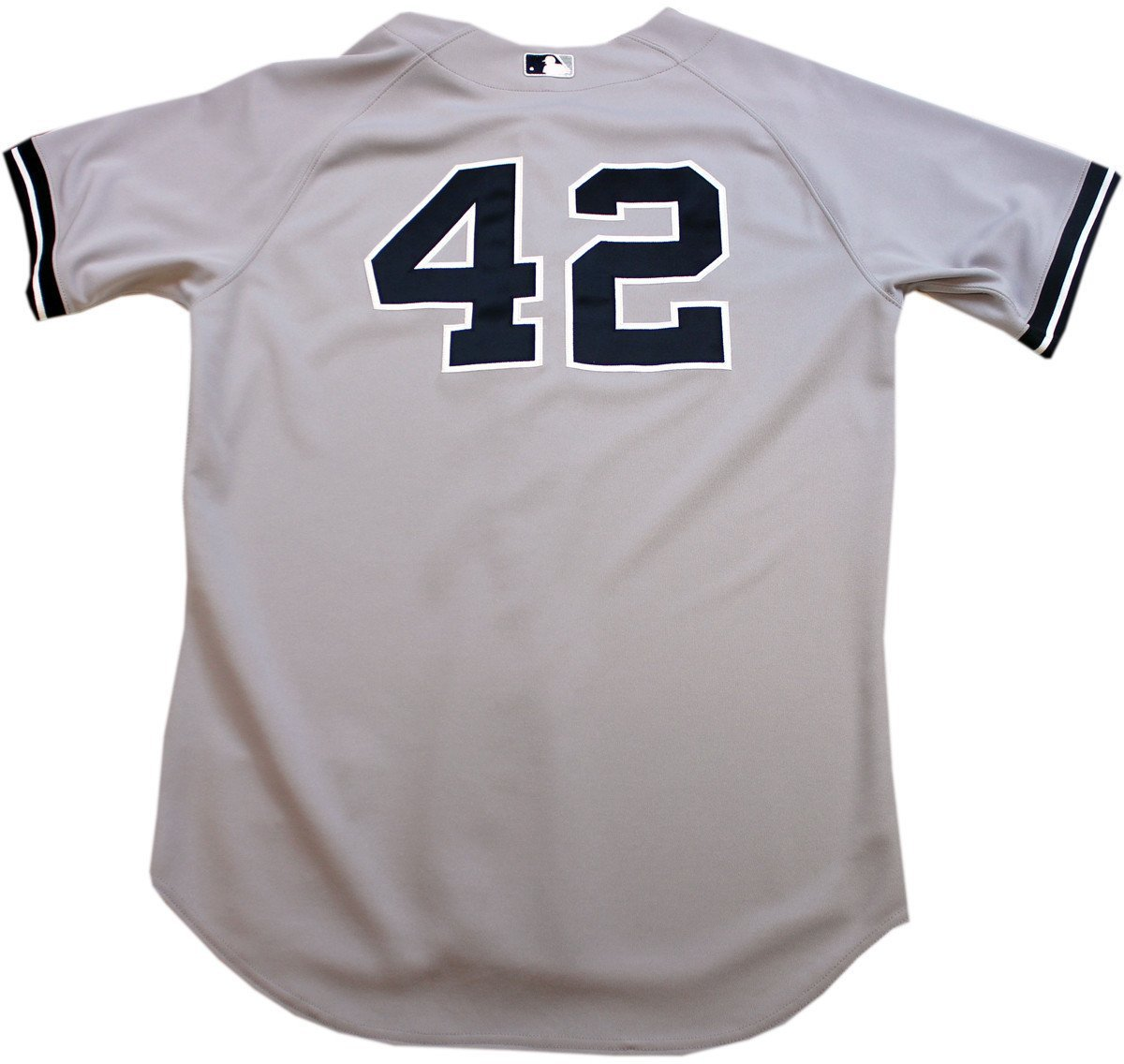 finest selection a0cfb 53008 Mariano Rivera Jersey - NY Yankees Game Worn #42 Grey Jersey ...