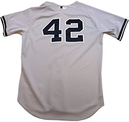 finest selection 88605 b74fb Mariano Rivera Jersey - NY Yankees Game Worn #42 Grey Jersey ...