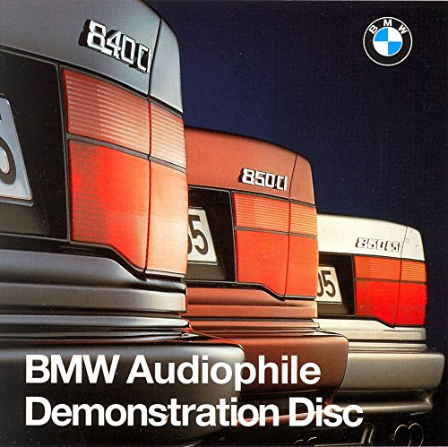Price comparison product image BMW Audiophile Demonstration Disc 1995