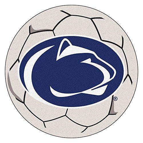 FANMATS NCAA Penn State Nittany Lions Nylon Face Soccer Ball Rug ()