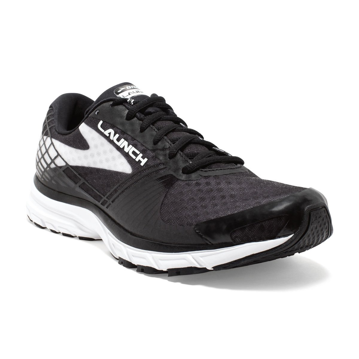 Brooks Women's Lauch 3 Running Shoes (Black, 6(B))