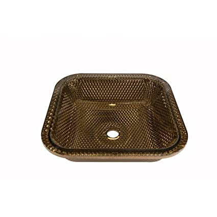 Buy JSG Oceana 007-716-010 Cubix Undermount Bathroom Sinks Cobalt ...