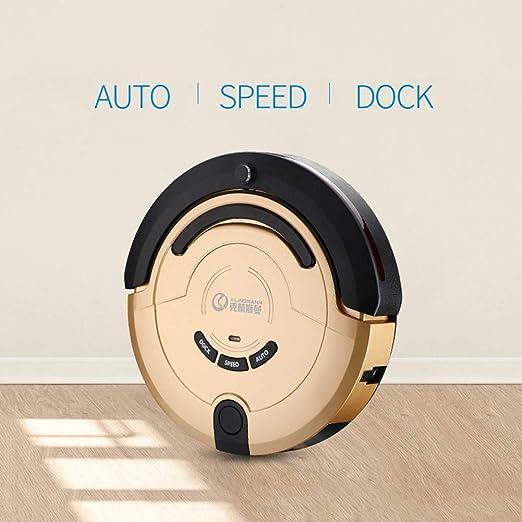 Robot Aspirador con Máxima Potencia de Succión, Aspiradora con Robot de Navegación, Controles de Aplicación, Función de Temporización, 2 en 1 Seco Mojado, Autocarga para Pisos de Superficie Dura y Alf: Amazon.es:
