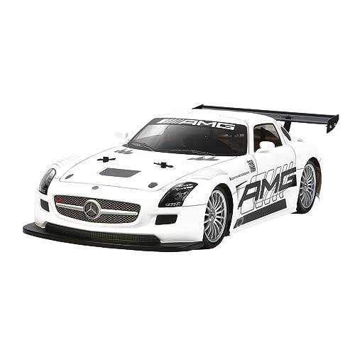 TAMIYA 300058566 - 1:10 RC Mercedes Benz SLS GT3, AMG TT-02