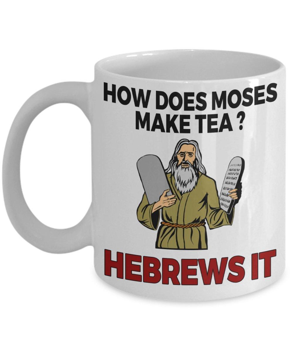 Amazoncom How Does Moses Make Tea Hebrews It Funny Jewish