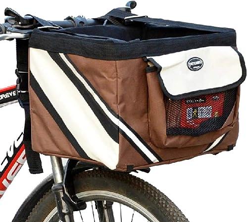 Carrito bicicleta para mascotas Canasta perros bicicletas Bolsa ...