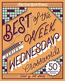The New York Times Best of the Week Series: Wednesday Crosswords: 50 Medium-Level Puzzles (1250133203) | Amazon price tracker / tracking, Amazon price history charts, Amazon price watches, Amazon price drop alerts