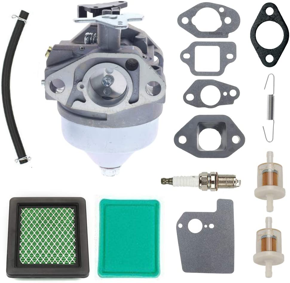 ANTO 16100-Z0Y-853 Carburetor Carb for Honda GC190 GCV190 GCV190LA Ryobi Pressure Washer General Purpose Engines with Insulator 16211-ZL8-000 Exhaust Gaskets Air Filter kit
