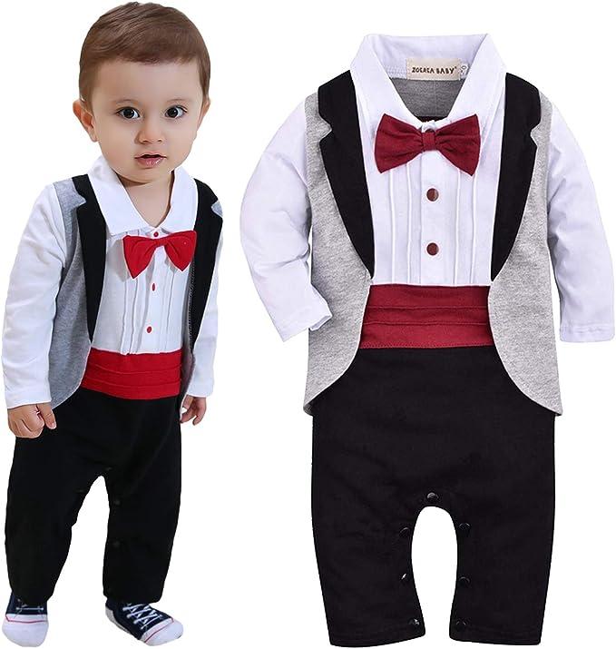 Amazon.com: ZOEREA - Mono de esmoquin para bebé y niño (9.8 ...