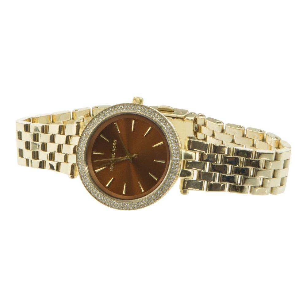 98a8f89649cb Amazon.com  Michael Kors MK3408 Dareci Ladies Watch - Brown Dial  Watches