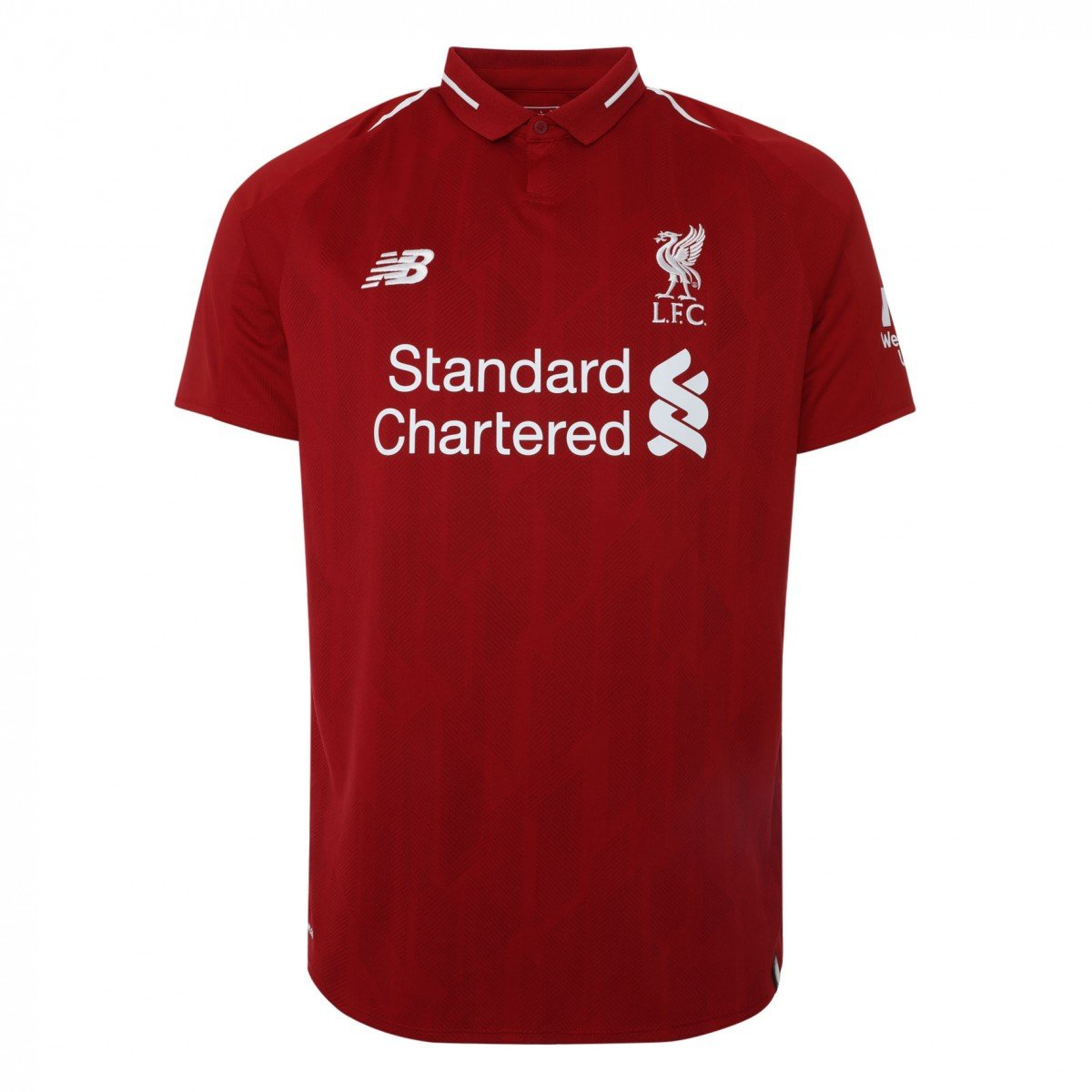 new product a0c21 500f8 2018-2019 Liverpool Home Football Soccer T-Shirt Jersey (Mohammad Salah 11)