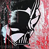 MR.BABES - ''Star Wars: Darth Vader'' - Original Pop Art Painting - Movie Portrait