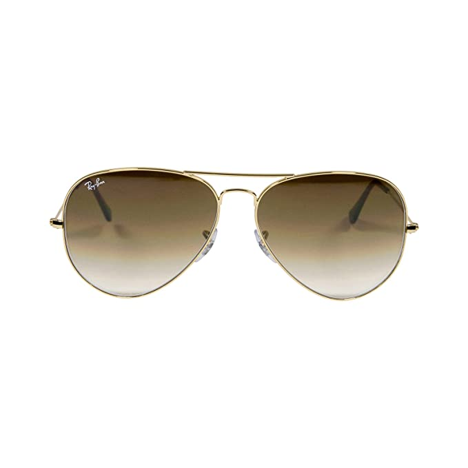 Ray-Ban Gafas de sol - para mujer marrón dorado: Amazon.es ...