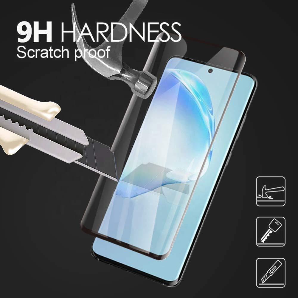 2 Pack CUSKING Screen Protector for Galaxy S20 Plus 9H Hardness Tempered Glass Screen Protector Compatible with Samsung Galaxy S20 Plus Ultra Clear Bubble Free
