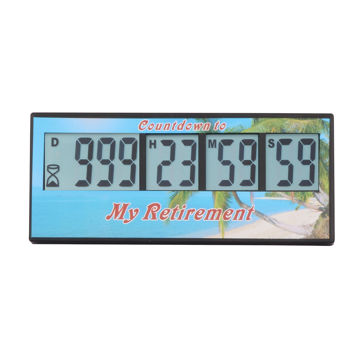 AIMILAR Digital Retirement Countdown Timer - 999 Days Count Down Timer