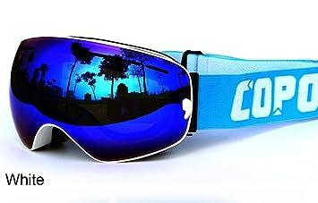 COPOZZ® Pro Gafas De Esquí Polarizadas Espejo (Protección UV400, Antiniebla)  Ventisca Ciclismo