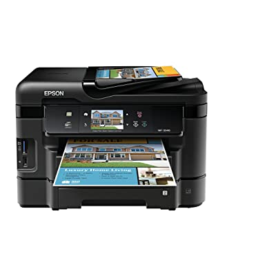 Epson WorkForce WF-3540 Wireless All-in-One Color Inkjet Printer