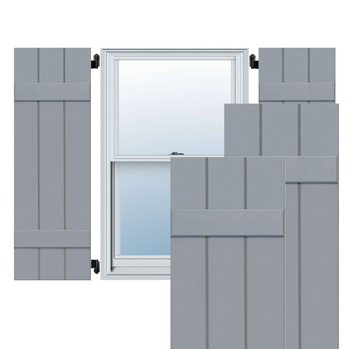 Ekena Millwork CWB12X047UNC Exterior Three Board