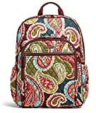 Vera Bradley Campus Tech Backpack in Heirloom Paisley Signature Cotton