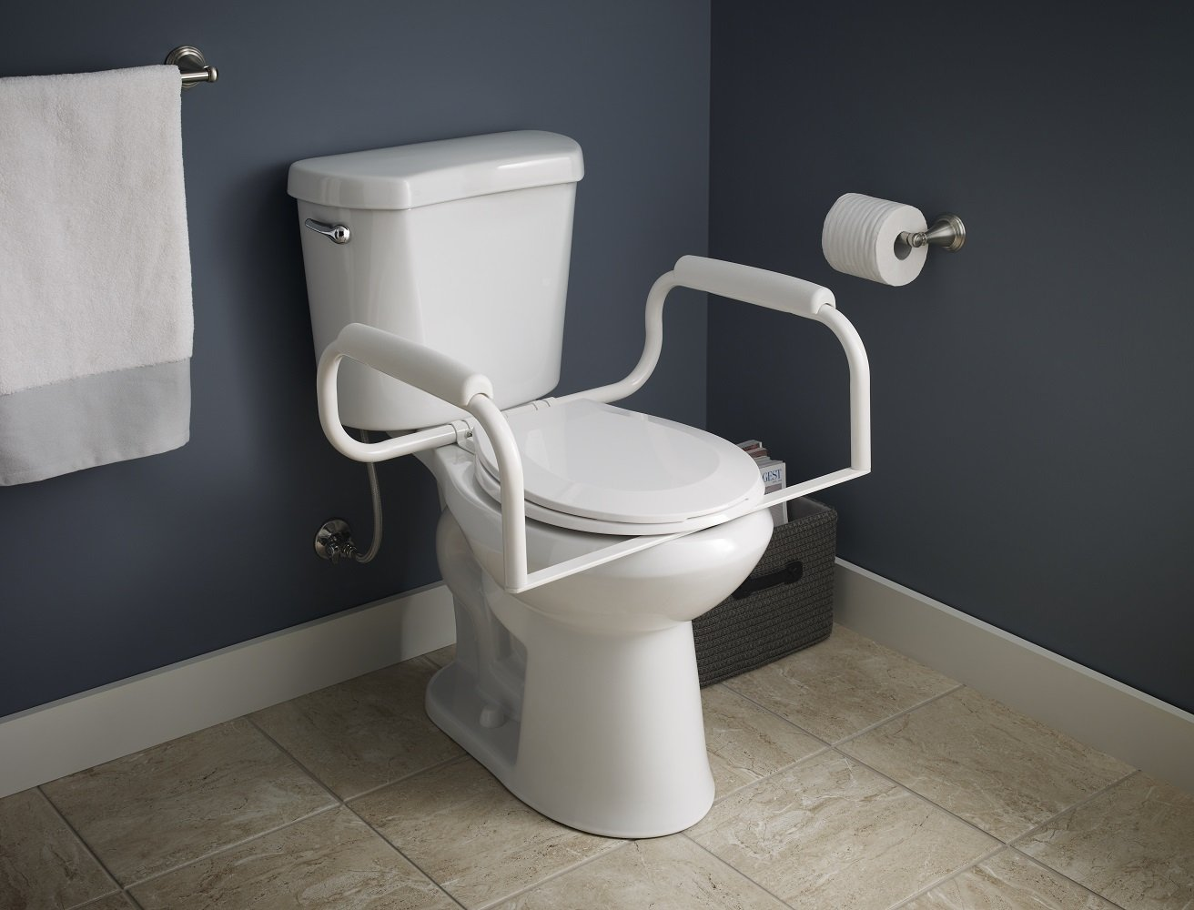 Delta DF575 Toilet Bath Safety Bar