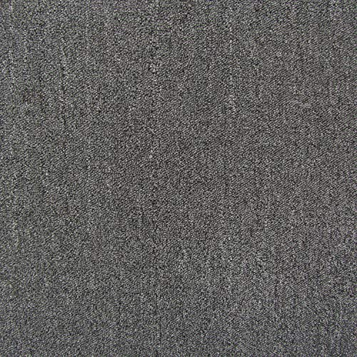 All American Carpet Tile Bravo 23.5 x 23.5 Plush Easy to Install Do It Yourself Peel and Stick Carpet Tile Squares - 9 Tiles Per Carton - 34.52 Square Feet Per Carton (Smokey)