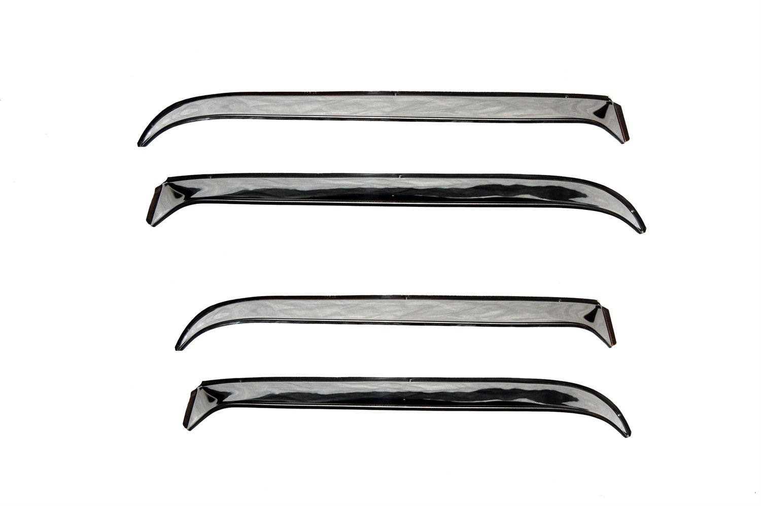 4-Piece Set for 1981-1989 Lincoln Town Car Auto Ventshade 14202 Ventshade with Stainless Steel Finish