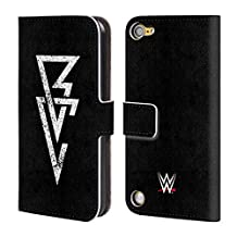 Official WWE Logo Finn Balor Leather Book Wallet Case Cover For iPod Touch 5th Gen / 6th Gen