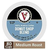80CT Victor Allen Donut Shop Blend for K-Cup Keurig 2.0 Brewers Deals