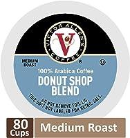 Donut Shop Blend for K-Cup Keurig 2.0 Brewers, 80 Count, Victor Allen's Coffee Medium Roast Single Serve Coffee Pods