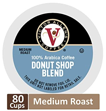 Down At Victor Allens Coffee Trying Out >> Amazon Com Donut Shop Blend For K Cup Keurig 2 0 Brewers 80 Count