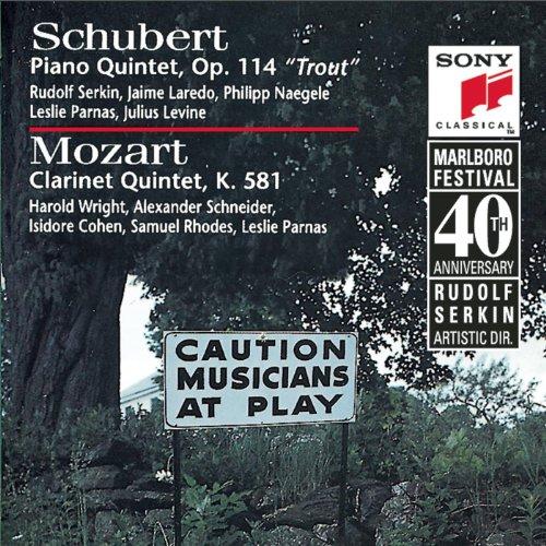 schubert-trout-quintet-mozart-clarinet-quintet