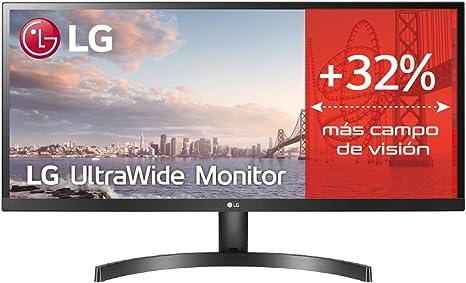 LG 29WL500-B - Monitor de PC IPS 29 21: 9 Full HD Flat HDR Diseño delgado (3 lados) Color Negro: Lg: Amazon.es: Informática