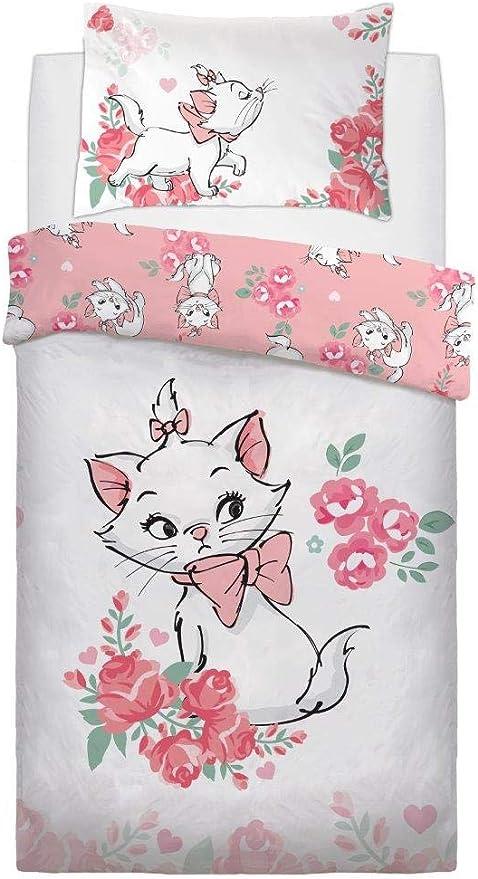 90 x 140 cm Choix : Kitty Marie Bambi 3 Theonoi Parure de lit pour Enfant Comprenant 1 taie doreiller 40 x 60 cm et 1 Housse de Couette 100 x 135 cm Coton Marie Cadeau pour Fille
