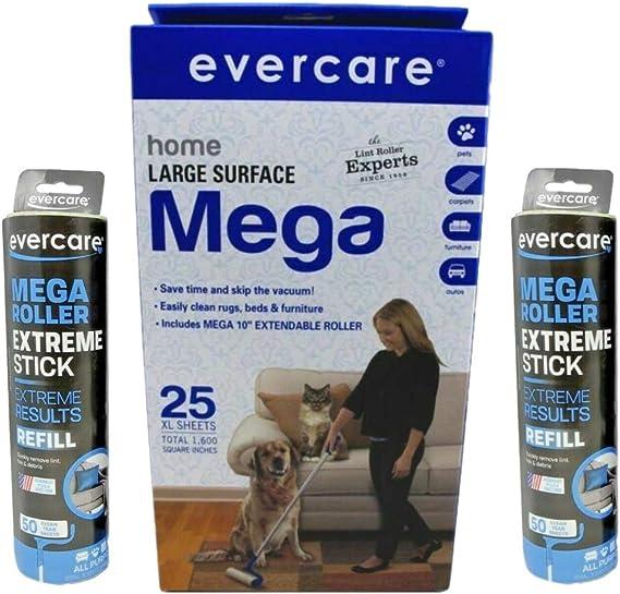 Evercare gran superficie Mega rodillo con extensible pole pack de 1