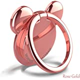 CAMSIR Metal CellPhone Finger Ring Stand Holder Grip kickstand Universal Smartphone Portable Grip with Stand Holder Mickey Pink