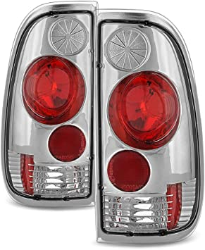 1997-2003 Ford F150 99-07 F250 F350 Superduty Styleside Tail Lights Left+Right