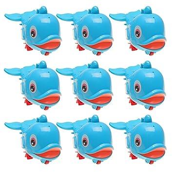 Homyl 6 Unids Modelo de Delfines de Plástico Flotador de Baño Juego de Tiempo de Agua para Bebé: Amazon.es: Juguetes y juegos