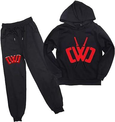Little Boys Girls Chad Wild Clay Pull on Sweatshirts Hoodies and Sweatpants Set