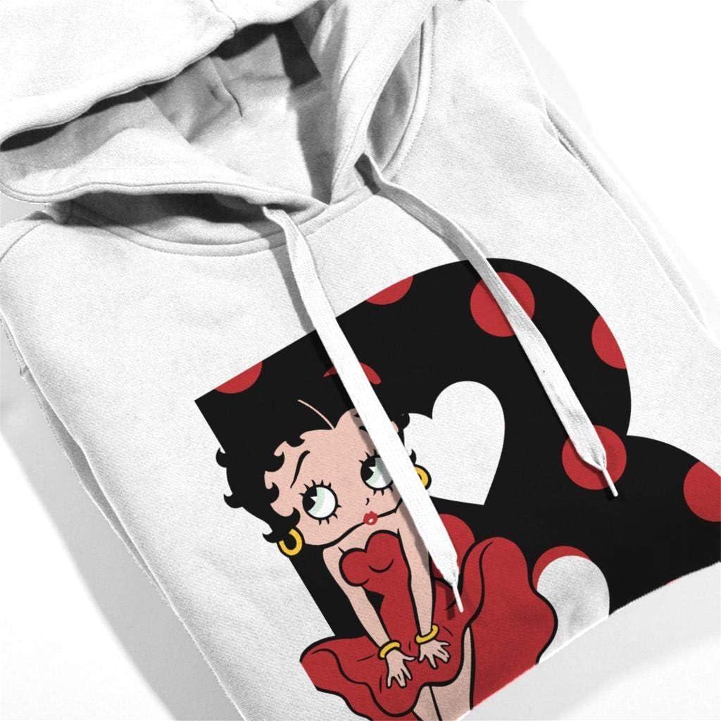 Betty Boop Marilyn Monroe Mens Hooded Sweatshirt