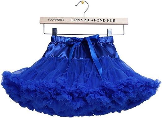 Niñas de capas de volantes Tulle ballet tutú falda 0-10T: Amazon ...