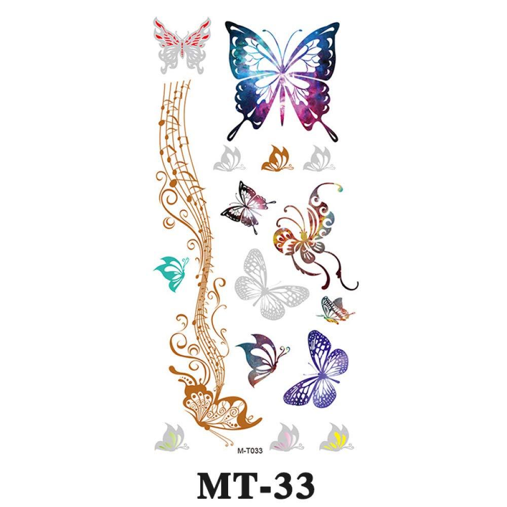 9 piezas pegatinas de tatuaje pegatinas de tatuaje duraderas a ...