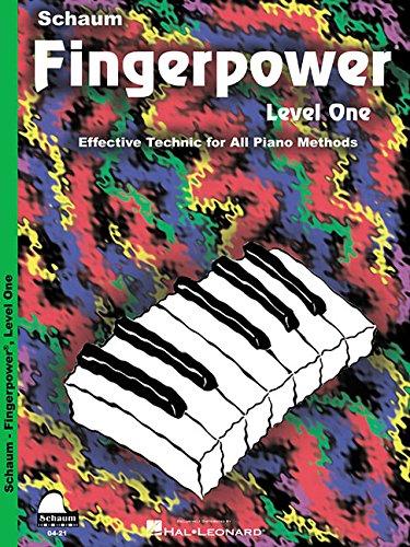 Fingerpower  Level 1  Schaum Publications Fingerpower R