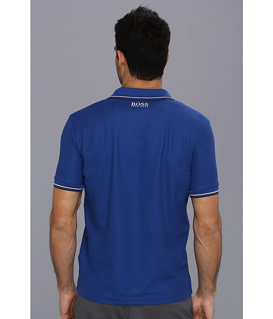 8e8ebafd4 ... Hugo Boss Mens Paddy Moisture Manager Pro Edition Polo Shirt 50249000  ...