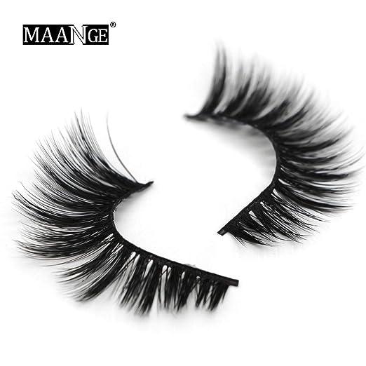 14d9f483021 Amazon.com: UMFun💗💗 5D False Eyelashes Lashes Voluminous Eye ...