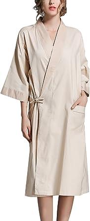 45.52 Pollici Dolamen Donna Kimono Vestaglia Pigiama Sleepwear Lungo Busto 108cm Lussuoso Pizzo Raso Vestaglie e Kimono Robe Accappatoio Damigella dOnore da Notte Pigiama