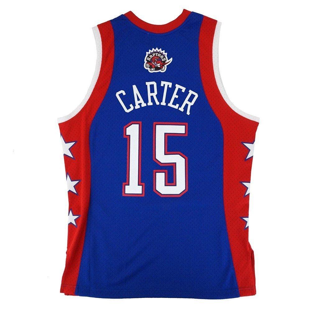 5a9852517e8 Amazon.com   Mitchell   Ness Vince Carter NBA Blue 2004 NBA All Star East  Jersey For Men   Sports   Outdoors
