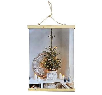 Tannenbaum Mit Kerzen.Zeitzone Led Bild Weihnachtsbaum Kerzen Beleuchtet Tannenbaum