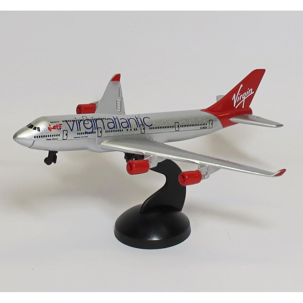 Premier Planes VAA6264 Virgin Atlantic Boeing 747-400 Toy