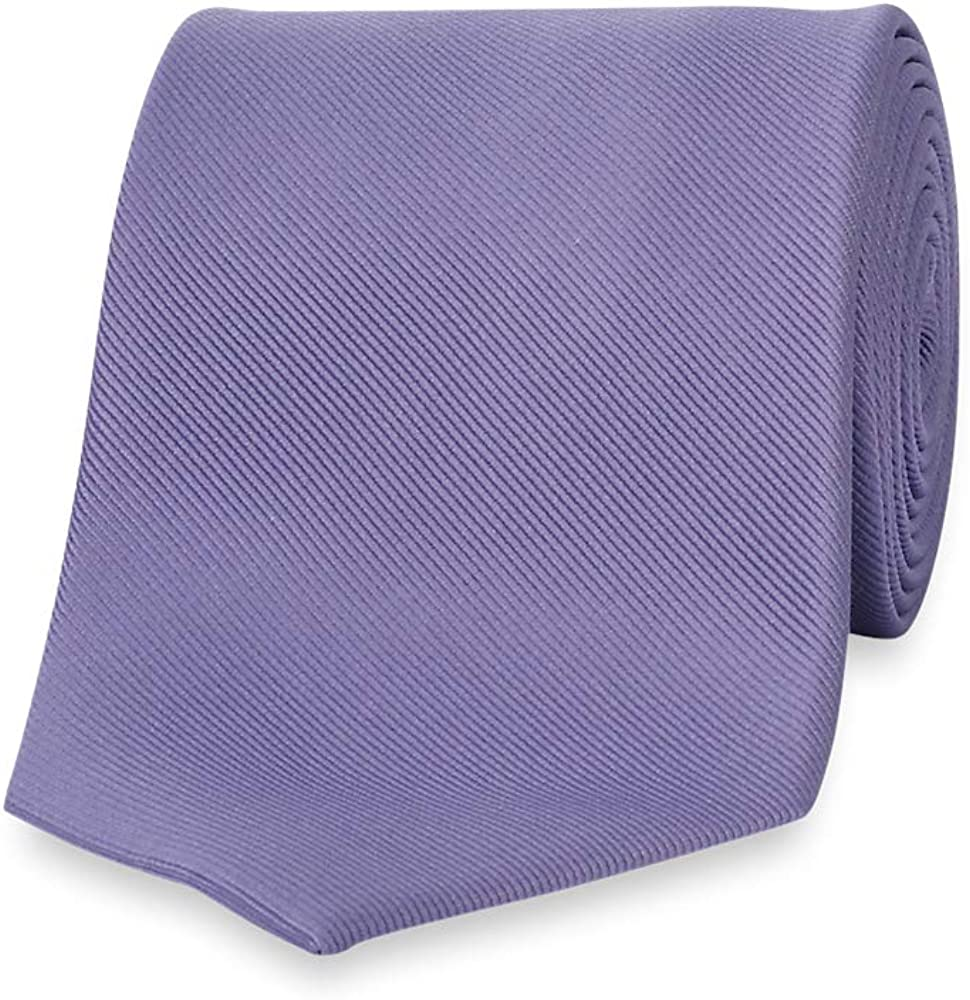 Paul Fredrick Mens Textured Solid Tie