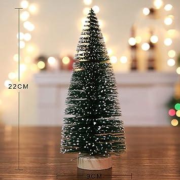 JUNMAONO Christmas Decoración, Árbol De Navidad, Navidad Decoraciones, Adornos Navideños (9 * 22cm): Amazon.es: Hogar